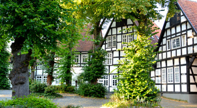 Fachwerkhäuser Halle Westfalen