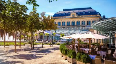 Kurpark von Baden bei Wien