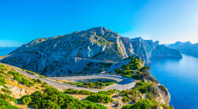 Küstenstraße auf Mallorca
