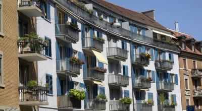Altbauten in Zürich