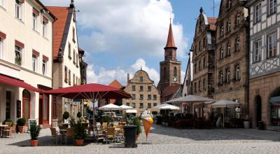 Grüner Markt in Fürth