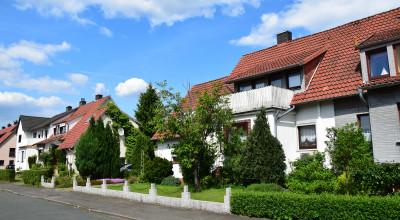 Häuser Wohnsiedlung