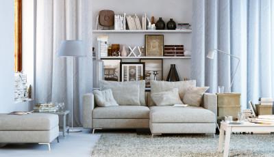 Konfortables Wohnzimmer