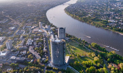 Bonn - Luftaufnahme