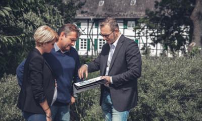 Besichtigung mit Eigentümern