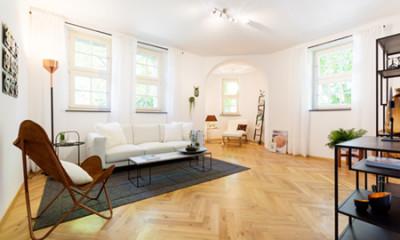 Homestaging Wohnzimmer