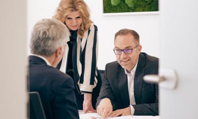 Kundengespräch Lindner Immobilien