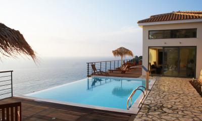 Finca mit Meerblick und Pool