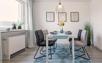 Home-Staging Beispiel Esszimmer nachher