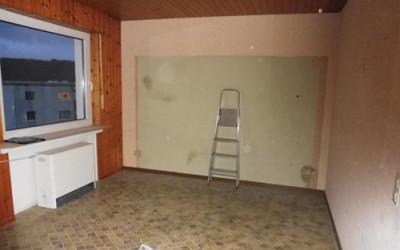 Home-Staging Beispiel Esszimmer vorher