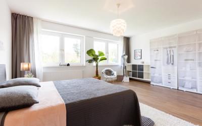 Home-Staging Beispiel Wohnzimmer vorher