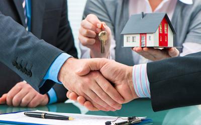 Schlüssel- und Hausübergabe