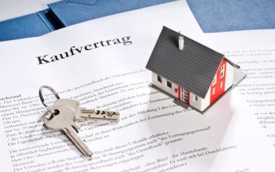 Kaufvertrag mit Schlüssel