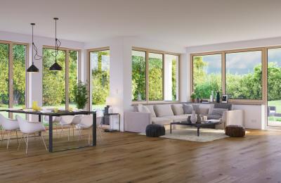 Geräumiges Wohnzimmer in Frankfurt am Main