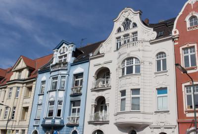 Reihenhaus Altbauten