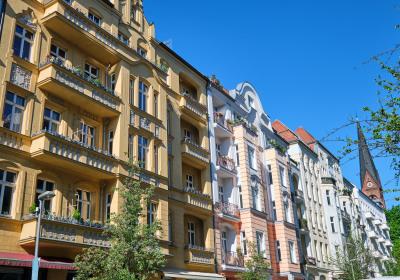 Wohnhäuser in Berlin Prenzlauer Berg