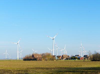 Windparkanlage