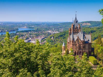 Schloss Drachenburg bei Bonn