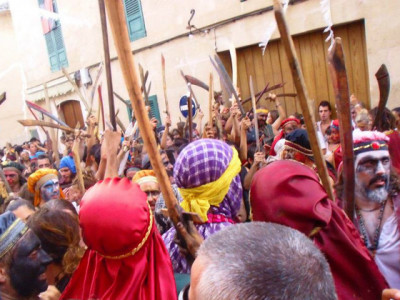 Straßenfest auf Mallorca