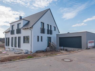 Neubauprojekt Einfamilienhaus