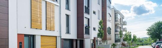 Vorstadt Häuser