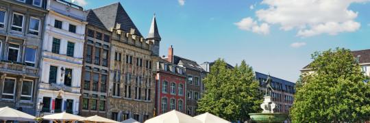 Aachen Rathausplatz