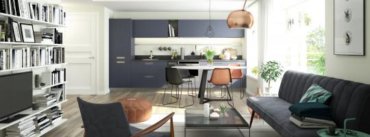 Wohnung mit modernem Wohnbereich