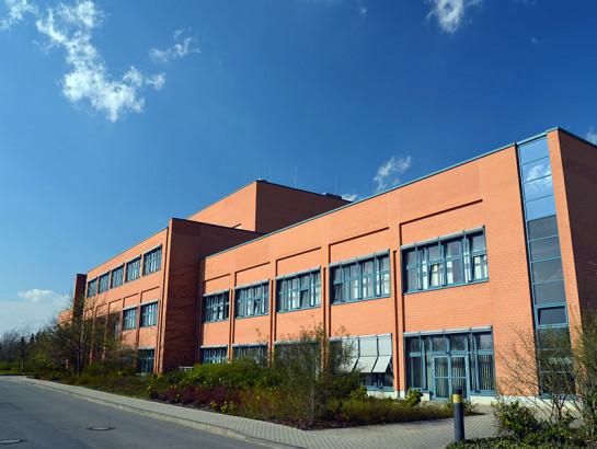 Modernes Fabrikgebäude