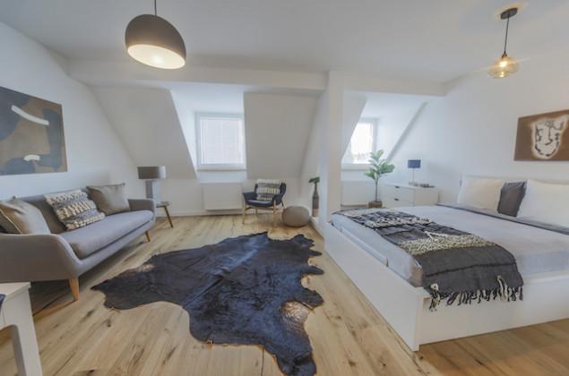 Eingerichtete Wohnung