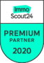 Logo Immoscout24 Premium Partner 2020