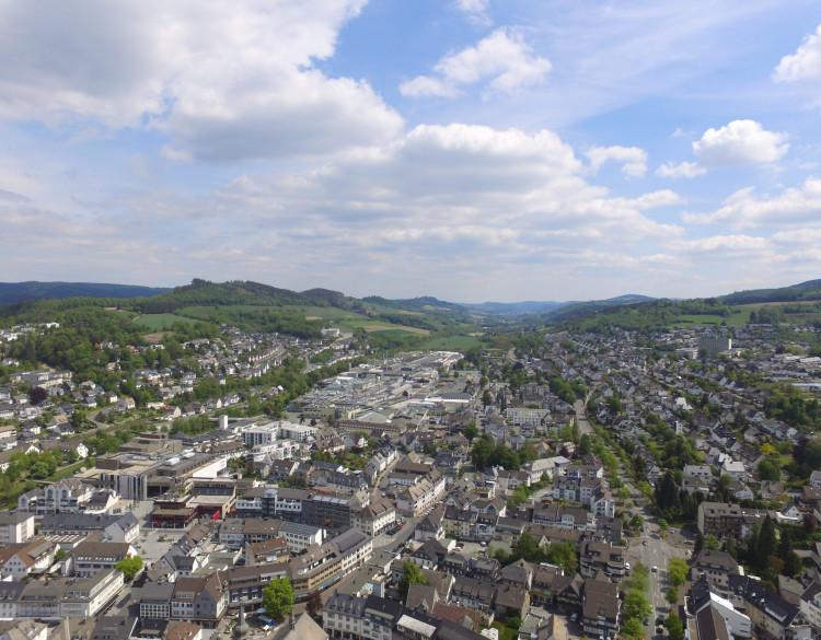 Blick über Arnsberg