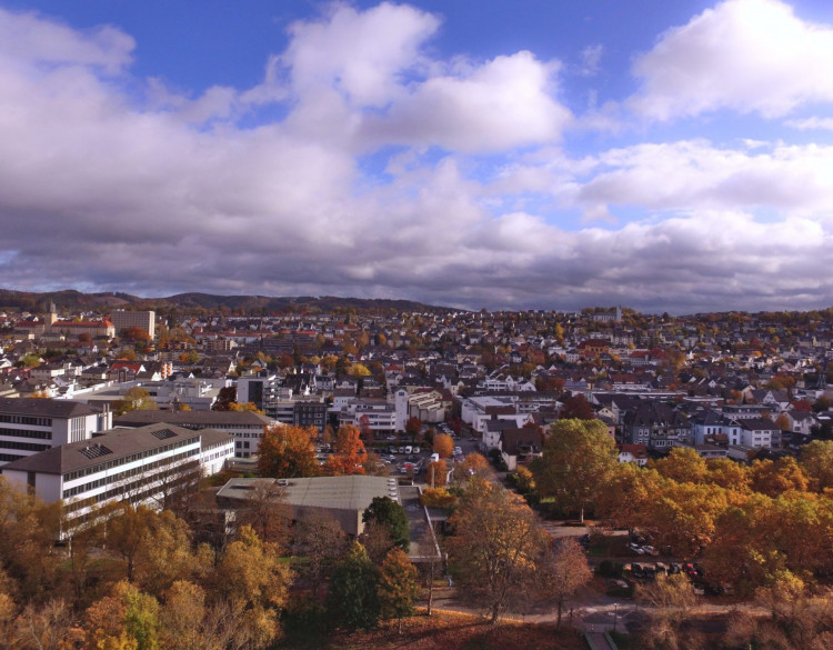 Panorama von Arnsberg