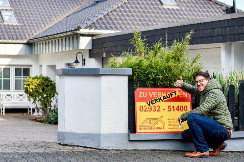Verkauftes Haus