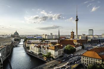 Luftansicht von Berlin