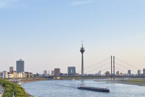 Natur und Rhein in Düsseldorf