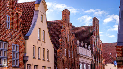 Altbauhäuser in Lübeck
