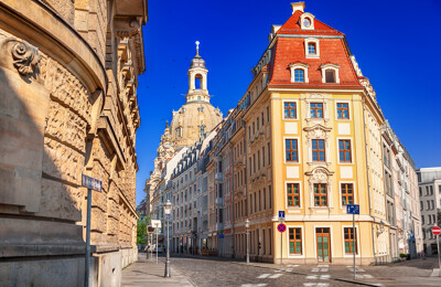 Altbauten in Dresden