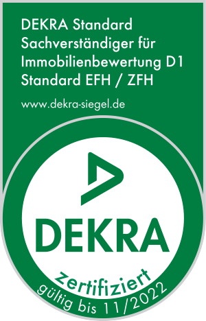 Dekra-Zertifikat zur Wertermittlung von Immobilien
