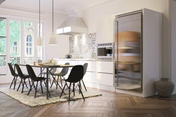 Präsentation einer modernen Küche in einem Immobilienexposé in München