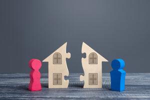 Getrennte Immobilie nach der Scheidung