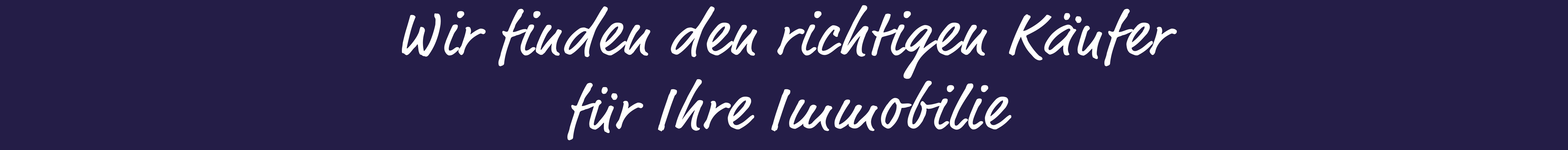 Galitz Immobilien Slogan