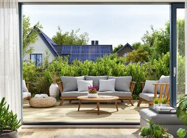 Terrasse im Grünen