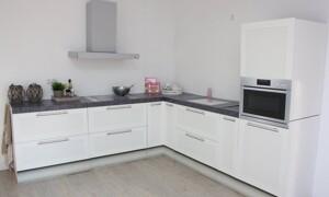 Küche mit Homestaging