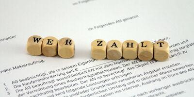'Wer zahlt' Buchstabenwürfel