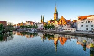 Lübeck historische Altstadt