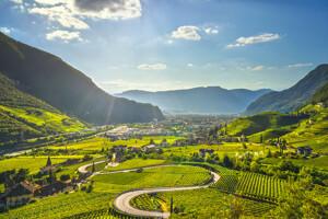 Vitigni - aerea di Bolzano