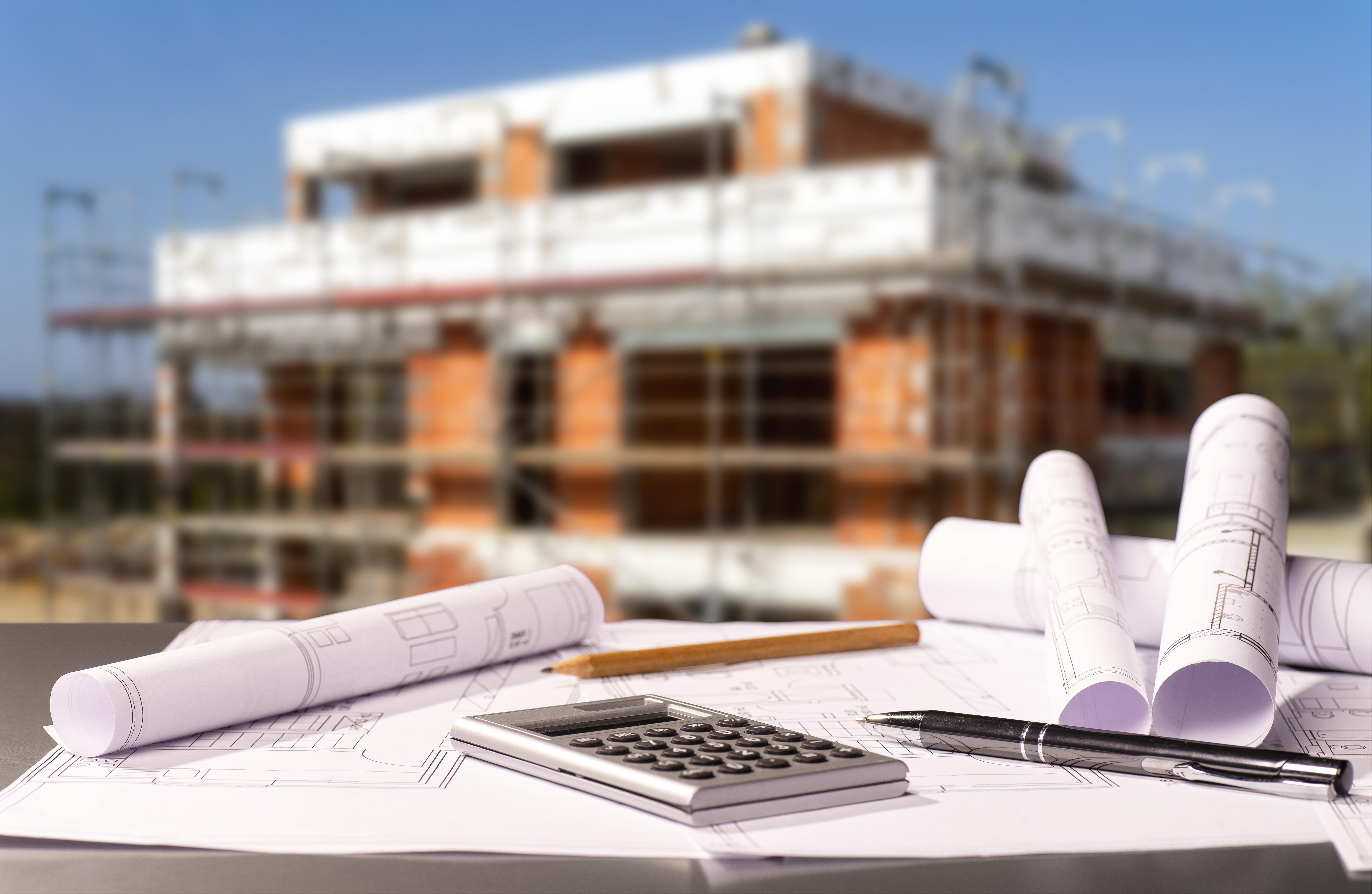 Neubau in Planung