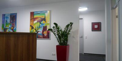 Empfang im Immobilienbüro in Viernheim