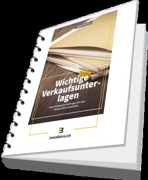 checkliste: Wichtige Verkaufsunterlagen bei Immobiliengeschäften