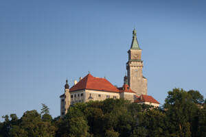 Blick auf Schloss Wallsee